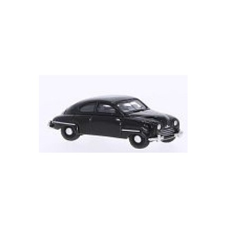 BOS 87041 Saab 92B 1953, svart, modell i resin