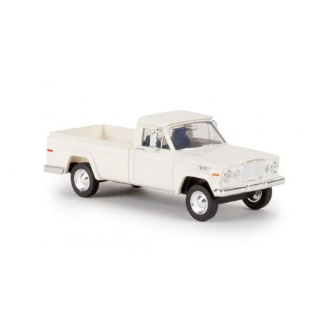 Brekina 19801 Jeep Gladiator 1962, vit, TD