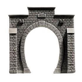 "Noch 58051 Tunnelportal, 1-spårs ""Profi Plus"", mått 13,5 x 13 cm"