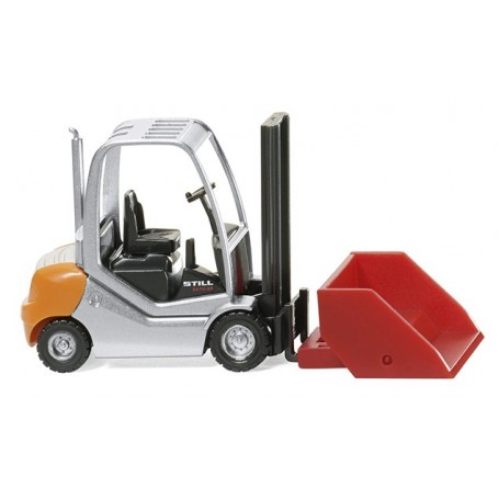 Wiking 66338 Forklift truck Still RX 70-25 with bucket