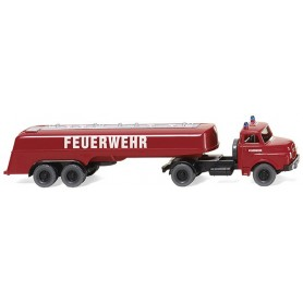 Wiking 86142 Fire brigade - Large tank fire brigade vehicle (MAN), 1969