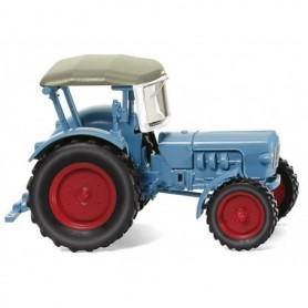 "Wiking 87103 Tractor ""Eicher Königstiger light blue, 1959"