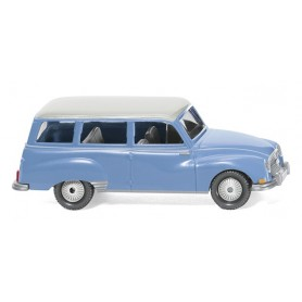 Wiking 12301 Auto Union 1000 Universal blue with white roof