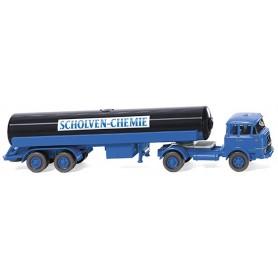 "Wiking 80598 Tanker truck (Krupp) ""Scholven-Chemie"", 1964"
