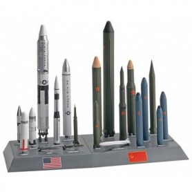 Revell 7860 USA/USSR Missile Set