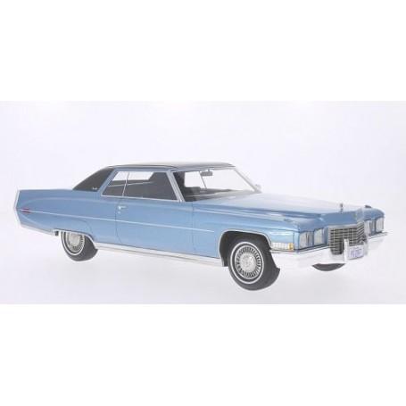 BOS 139 Cadillac Coupe De Ville 1972, ljusblå metallic