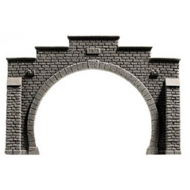 "Noch 34852 Tunnelportal, 2-spårs, ""Profi Plus"", mått 12,3 x 8,5 cm"