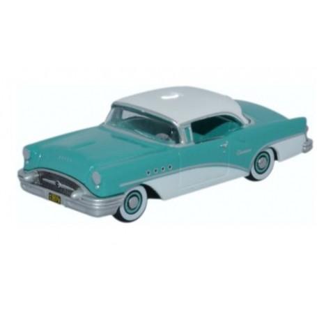 Oxford Models 120822 Buick Century 1955, turkos/vit