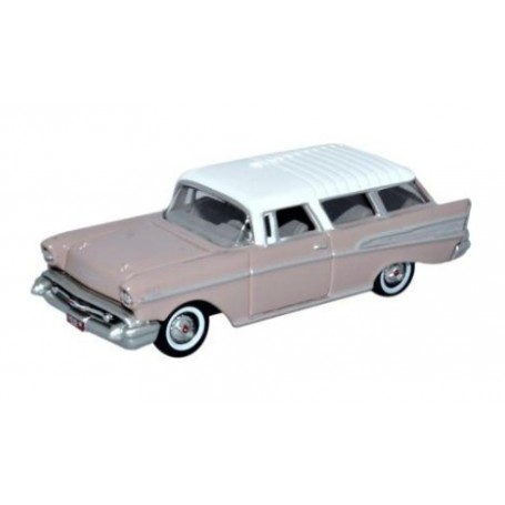 Oxford Models 120860 Chevrolet Nomad 1957 Dusk Pearl / Imperial Ivory