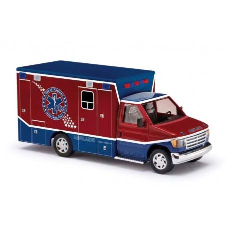 "Busch 41840 Ford E-350 ""Raytown Ambulance"""
