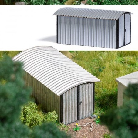 Busch 1592 Corrugated Metal Garage