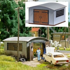 Busch 1593 Corrugated Metal Hut