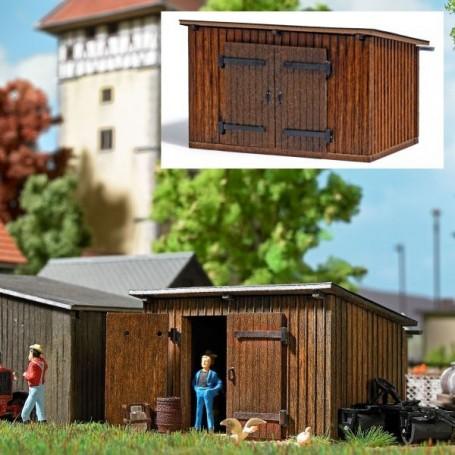 Busch 1594 Wooden Shed