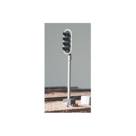 Entec 5004-1B Signal SJ, 4-skens, med stolpe