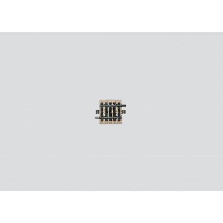 Märklin 5109 Rak skena, längd 3/16, 33,5 mm