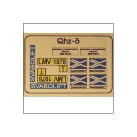 Entec 9011 LMV-dekaler (K)