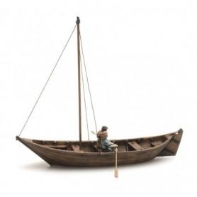Artitec 10334 Roddbåt med 2 figurer, 1600-tals