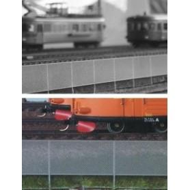Entec 8007-1 Staket/3-räckes, 15 x 270 mm av stål