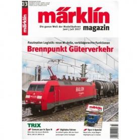 Märklin 286147 Märklin Magazin 3/2017 Tyska