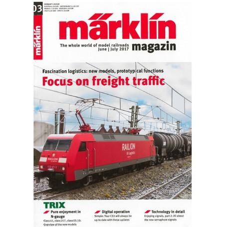 Märklin 286148 Märklin Magazin 3/2017 Engelska