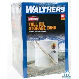 Walthers 3168 Tall Oil Storage Tank w/Berm