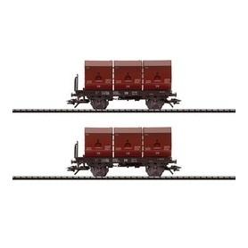 Trix 24063 Godsvagnsset med 2 st typ Okmm 38 DB