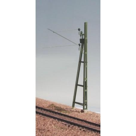 Entec 3313-1B Äldre linjestolpe med sträva och spännanordning