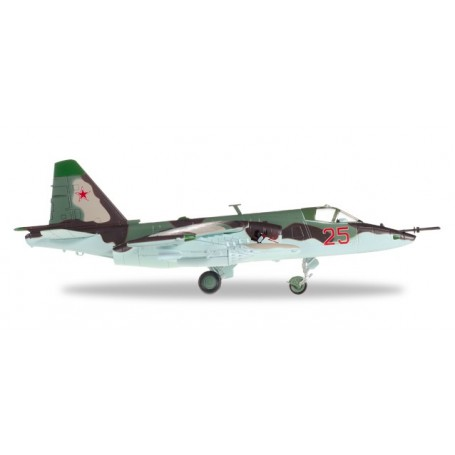 "Herpa 82MLCZ7204 Flygplan Soviet Air Force Sukhoi SU-25 ""Frogfoot"" - 368th OShAP, Tutow Air Base, Germany, 1993"