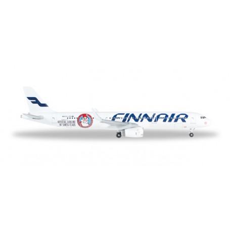 "Herpa 528399 Flygplan A321 Finnair ""Santa Claus"""