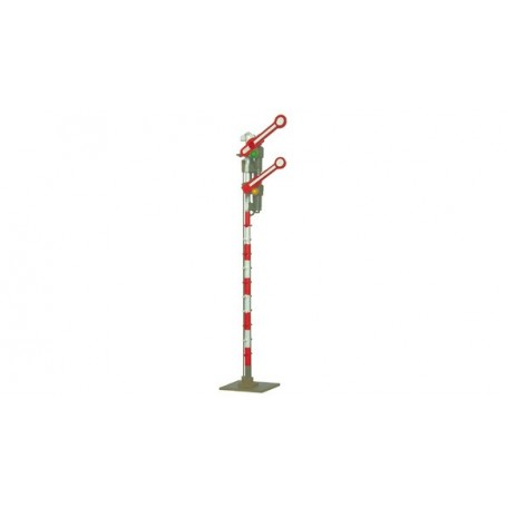 Roco 40612 Semaphore home signal ÖBB, with 2 coupled, rebuilt arms