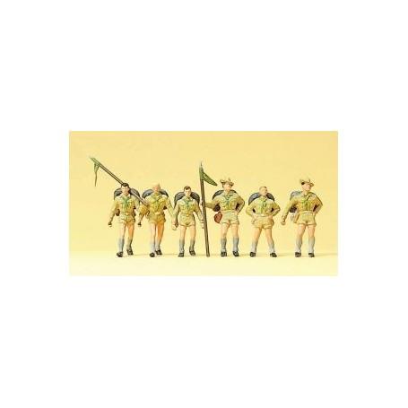 Preiser 10260 Scouter, 6 st
