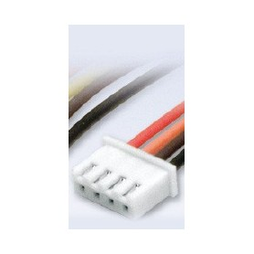 Texson 033910 Li-Po Balans-kontakt för 3-cell JST-XH, med ca 10 cm kabel, 1 st