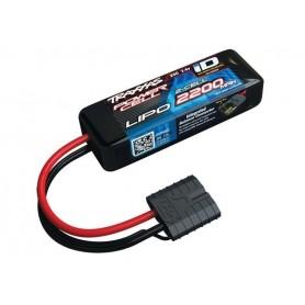 Traxxas 2820X Li-Po Batteri 2S 7.4V 2200mAh 25C iD-kontakt
