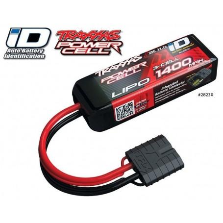 Traxxas 2823X Li-Po Batteri 3S 11,1V 1400mAh 25C iD-kontakt