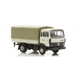 Brekina 34851 Renault JN 90 med kapell, gråvit