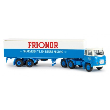 "Brekina 85183 Scania LBS 76 ""Sties/Frionor - Snarveien Til En Bedre Middag"""