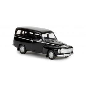 Brekina 29323 Volvo Duett Skåp, svart, TD