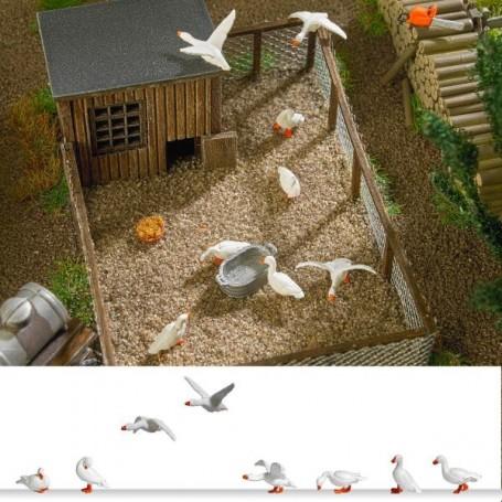 Busch 1195 Domestic Geese