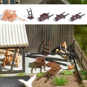 Busch 1630 Cart Set
