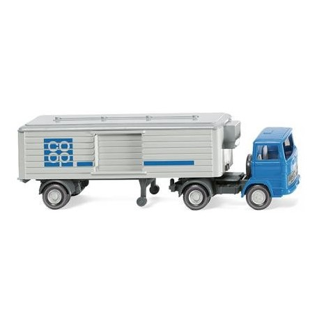 "Wiking 52002 Refrigerated semi-trailer (MB LPS 1317) ""coop"", 1965"