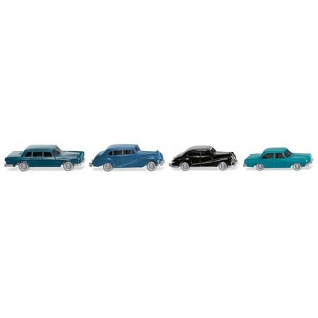 Wiking 91404 Four classic passenger cars