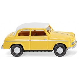 Wiking 80636 Lloyd Alexander TS - yellow with white roof, 1957