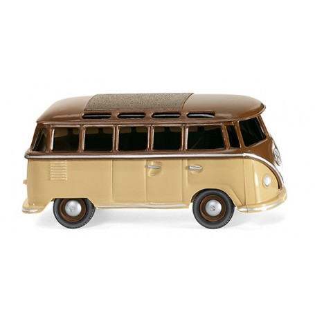 Wiking 31705 VW T1 Samba bus - beige/brown, 1963