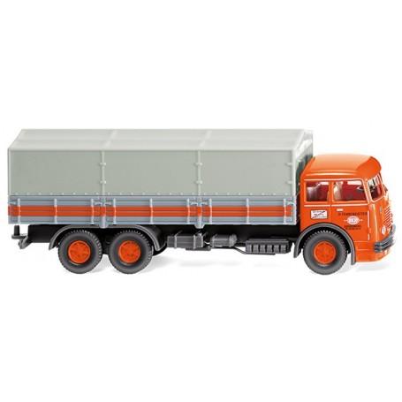 "Wiking 47903 Flatbed lorry (Büssing 12.000) ""Fehrenkötter"""