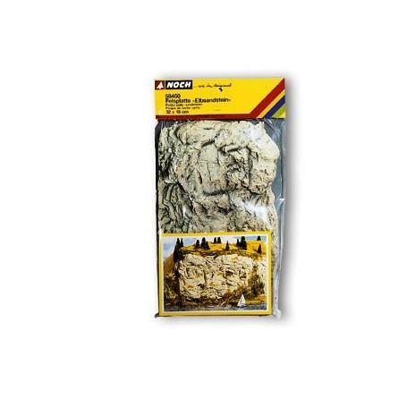"Noch 58460 Bergsplatta ""Elbsandstein"", 32 x 18 cm, kork"