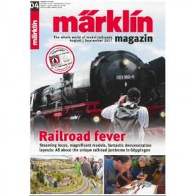 Märklin 286153 Märklin Magazin 4/2017 Engelska