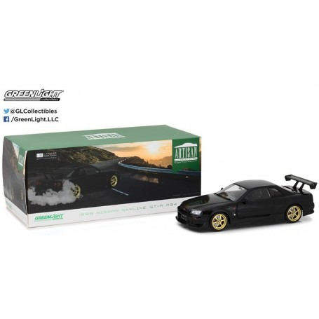 Greenlight 19030 Nissan Skyline GT-R R34 1999
