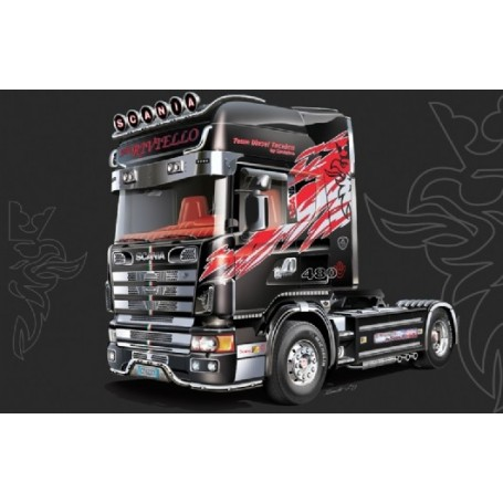Italeri 3922 Dragbil Scania 164L Topclass