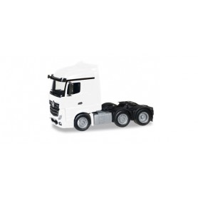 Herpa 305174.3 Mercedes-Benz Actros Streamspace 6x2 rigid tractor, white
