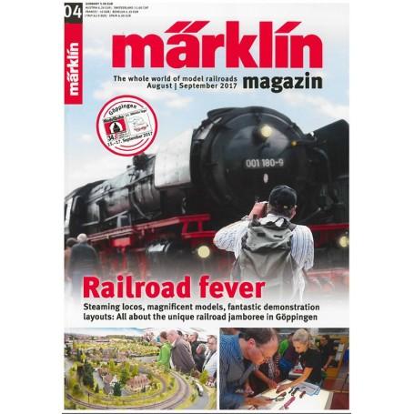 Märklin 286152 Märklin Magazin 4/2017 Tyska